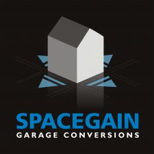 Spacegain Garage Conversions  logo - click for high-res version