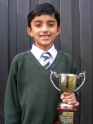 Adam Bhatti, National Young Writer of the Year, toothless but victorious