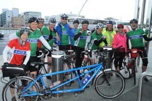 Cycling anaesthetists complete 400 mile ride from London to Dublin to raise funds for safer surgery in developing countries