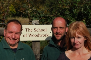 The team at The School of Woodwork