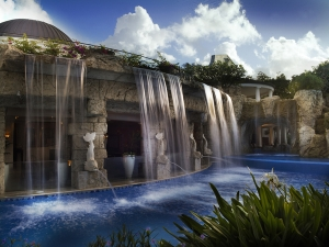 Spa Waterfall - Sandy Lane