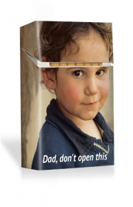 Give Up Please Dad - Personalised Cigarette Case
