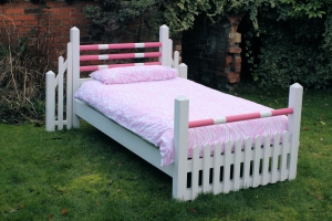 Handmade Pony Bed in Pink