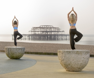 Brighton Yoga Festival, July 2014