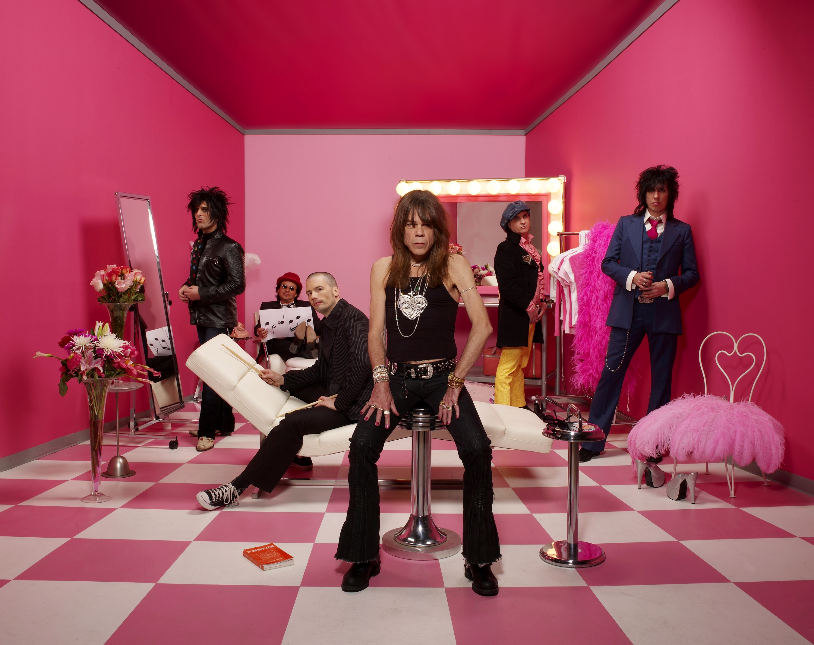 From one of the only punk bands i actually like the new york dolls
