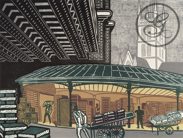 Edward Bawden: Borough Market