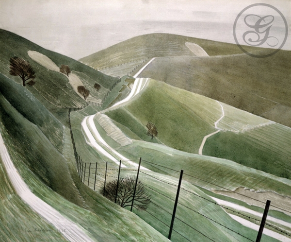 Eric Ravilious: Chalk Paths