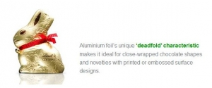 Aluminium foil's 'deadfold' characteristic - click for high res image