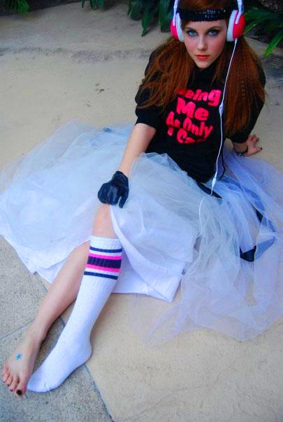 kelsey sanders feet