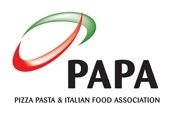 Pizza, Pasta & Italian Food Association logo - click for high-res version