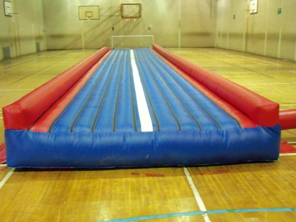 Tumble Tracks Put The Bounce Into Gymnasts Training