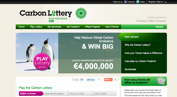 The Carbon Lottery screenshot