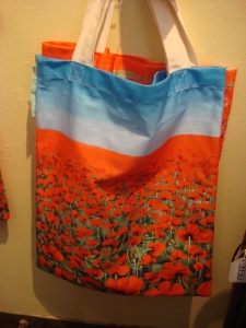Poppy Fields Shopper Bag