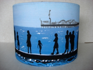 Seaside Lampshade - front view