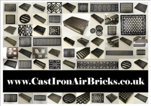 The Cast Iron Air Brick Company  logo - click for high-res version