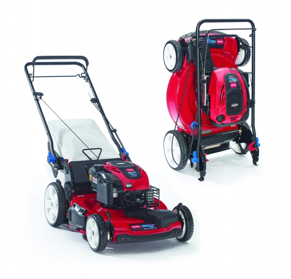 The New Smartstow Tm From Toro The First Mower You Can