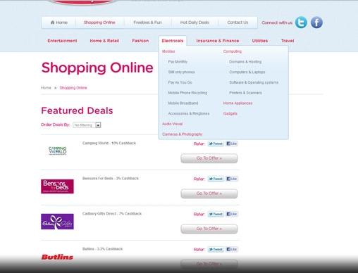 Shopping Online - Featured Deals from myfamilystore.co.uk