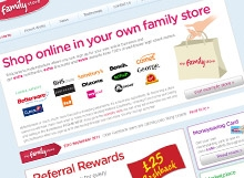 Home Page of myfamilystore.co.uk