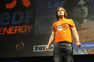 Leon Vanstone, UK winner of FameLab 2013