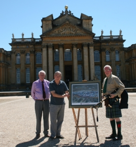 Presentation at Blenheim Palace - click for high res image