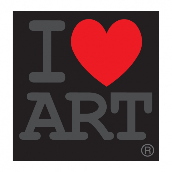 I Love Art logo