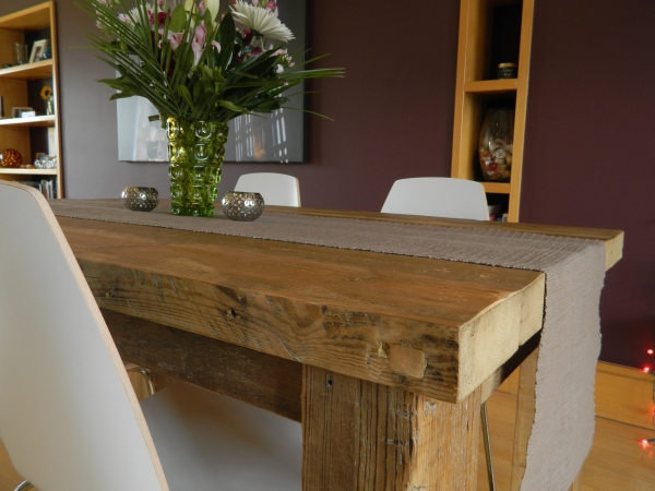 A local craftsmans reaction to high street furniture price for Local reclaimed wood