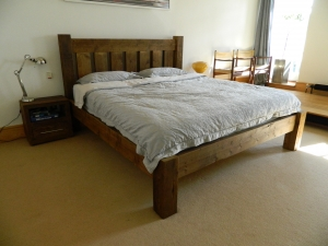 Original Wood Bed with Low End