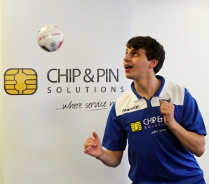 Jonathan Braddick practising his skills - click for high res image