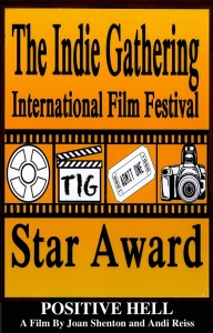 The Indie Gathering Star Award - click for high res image