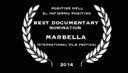 Marbella Film festival nomination - click for high res image