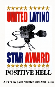 United Latino film festival Star Award - click for high res image