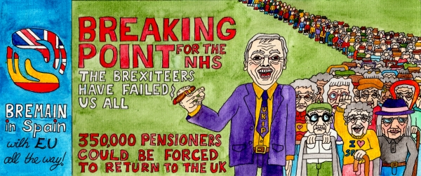 Breaking Point - for the NHS if UK pensioners in the EU are forced to return