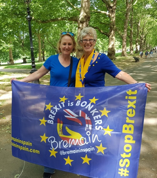 Elspeth Williams and Sue Wilson of Bremain in Spain