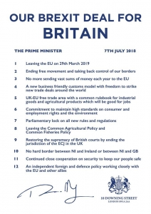 Official Brexit Deal for Britain document - click for high res image