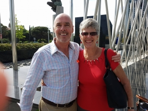 John Moffett and Sue Wilson of Bremain in Spain - click for high res image