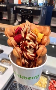Pinkberry's new Bubble Waffle has launched just in time for Westfield London