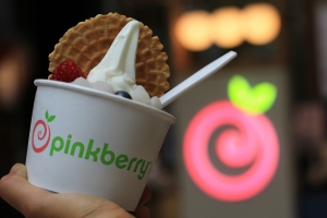 Keep your eyes peeled for the new Pinkberry!
