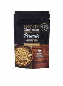 G-NUTS low-salt Peanuts snack pouch