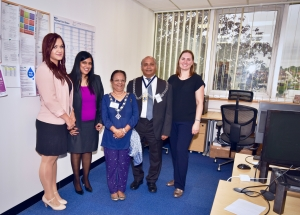 The Kingston Mayor and Mayoress visit the Radfield Home Care Richmond, Kingston and Hounslow Branch