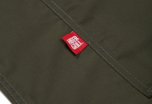 HiberGrill Apron - Olive Tag - click for high res image