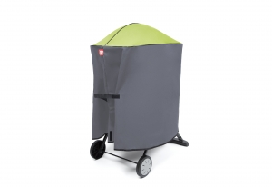 HiberGrill BBQ cover - small green - click for high res image
