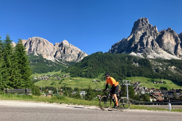 Dolomites Cycling Holidays - Fidel Flies!