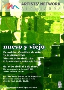 ANA Nuevo y Viejo Exhibition Poster - click for high res image