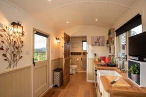 Spacious Shepherd Hut - click for high res image