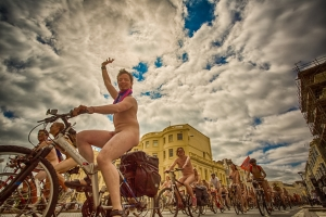 Brighton Naked Bike Ride 2013