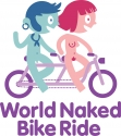 Brighton Naked Bike Ride logo - click for high-res version