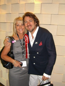 Jonathan Ross & Lowe Syndrome Trust founder Lorraine Thomas