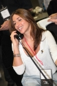 Melanie Blatt as phone broker, in support of Lowe Syndrome Trust